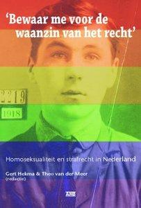 Hekma & van der Meer - Homoseksualiteit en strafrecht in Nederland